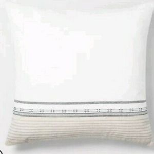 Engineered Ombre Border Throw Pillow - Hearth & Ha